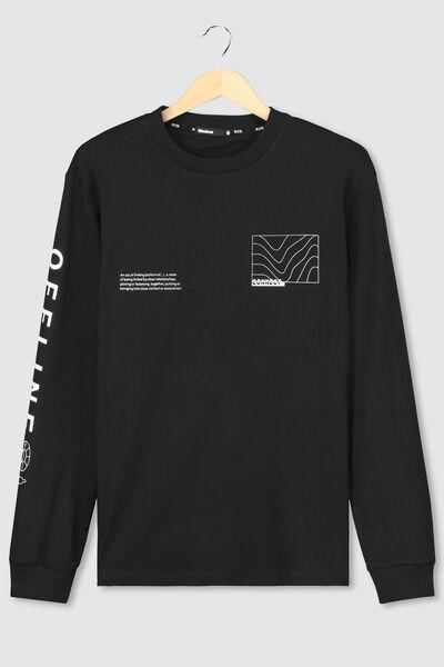 T-shirt ML imprimé