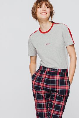 """T-shirt brodé """"London"""" & """"New-York"""""""