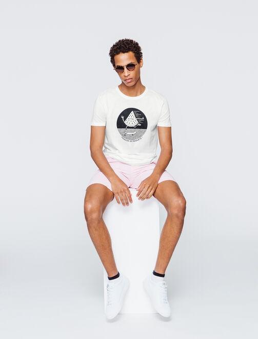 """T-shirt message """"Tranche de Pasquète"""" homme"""