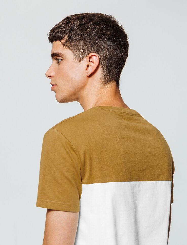 T-shirt color-block poche poitrine