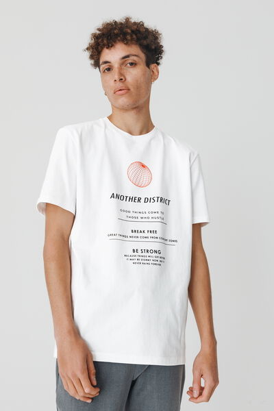 "T-shirt imprimé ""another district"""