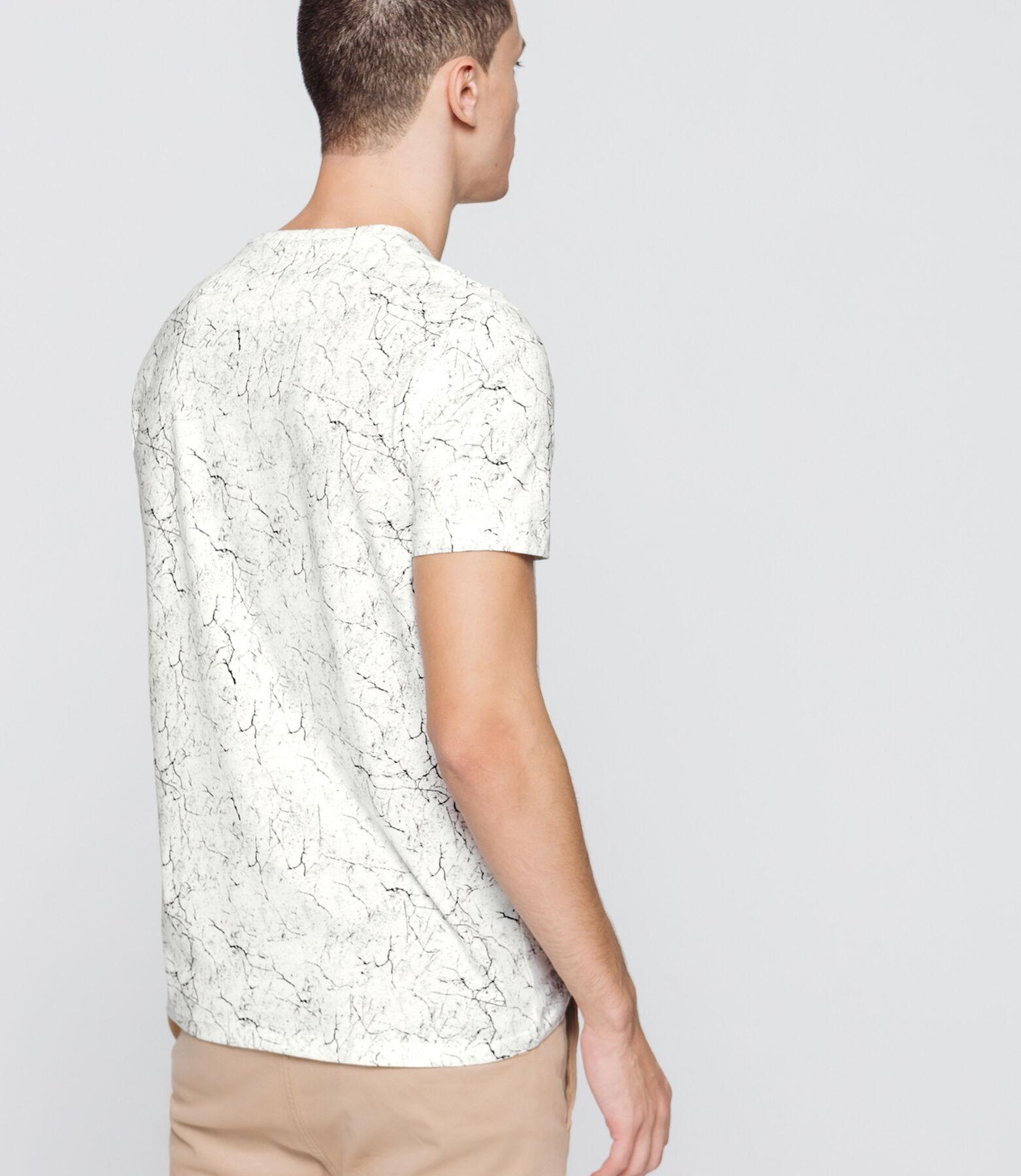 T-shirt imprimé marble
