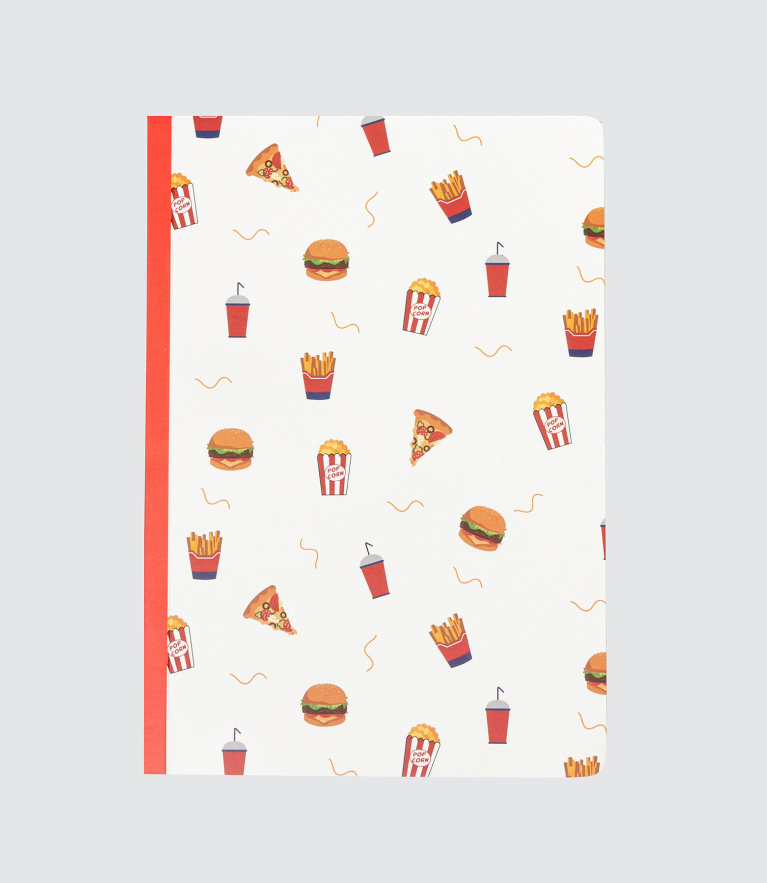 Cahier Imprimé All Over Food