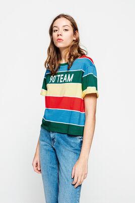 T-shirt rayé 90 TEAM