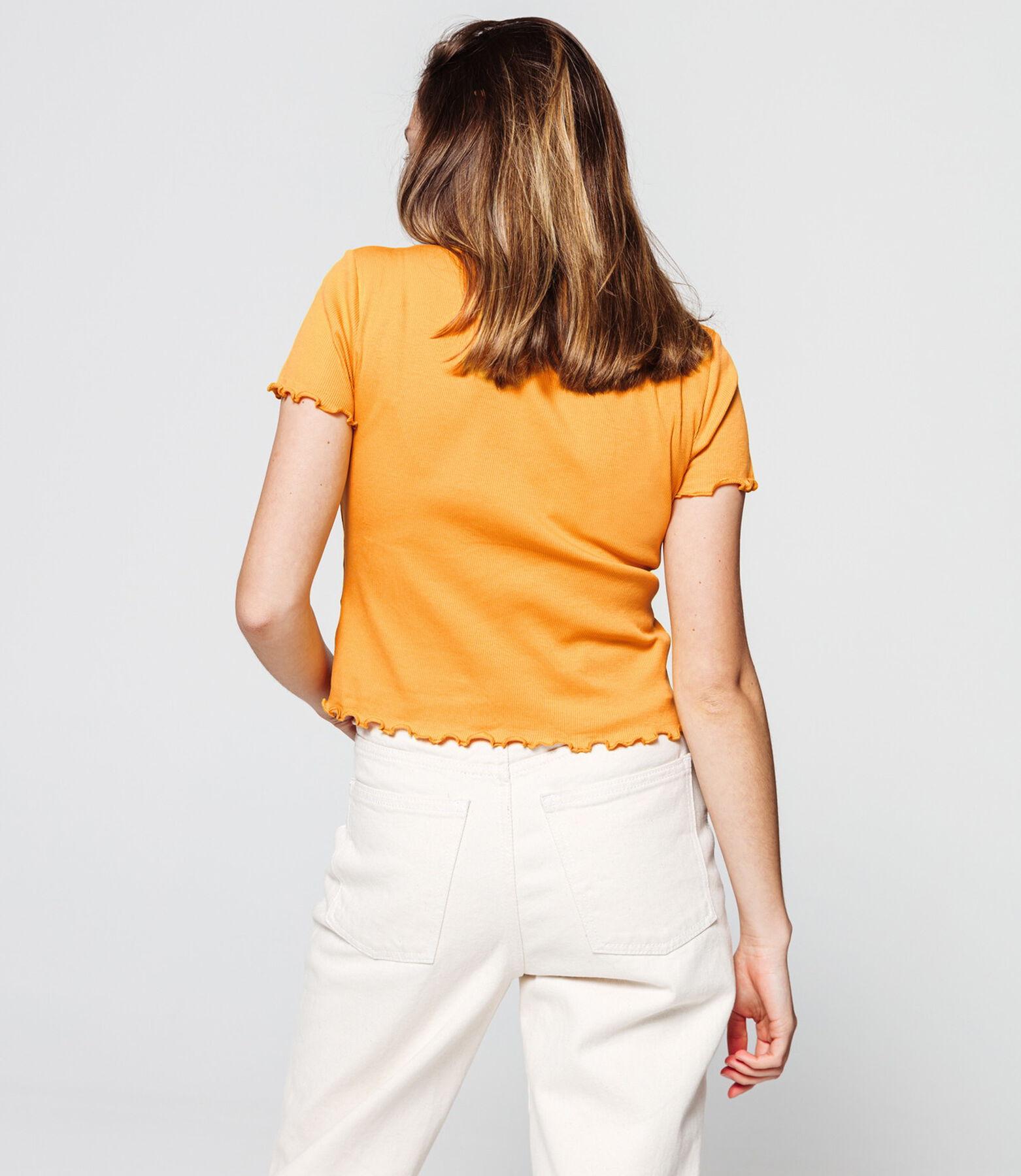 T-shirt en coton ajouré