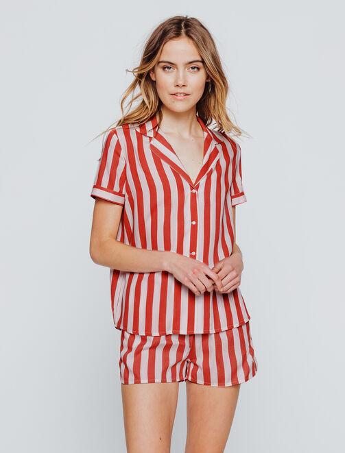 Set Pyjama Rayures femme