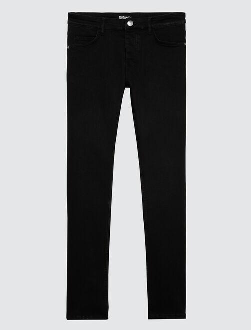Jean skinny basique noir homme