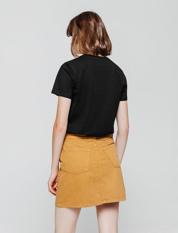 T-shirt brodé renard