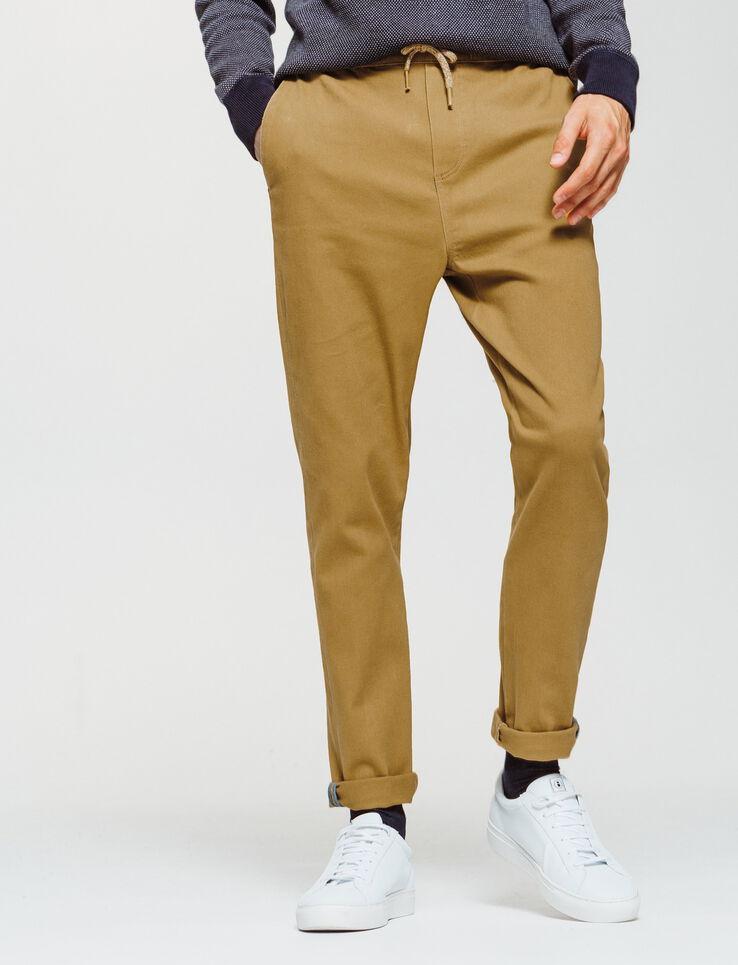 Pantalon jogger taillee élastiquée