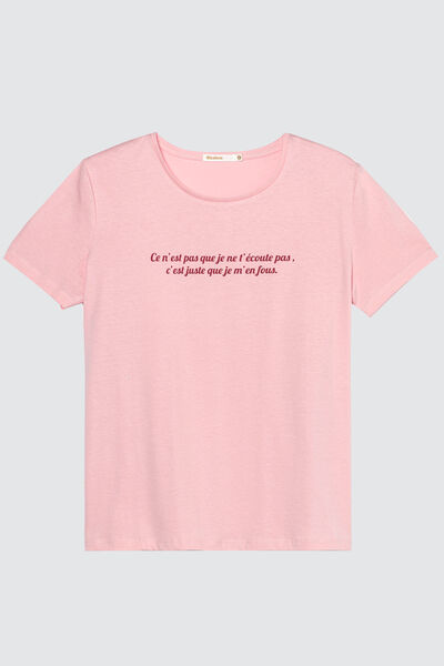 T-shirt à message humour