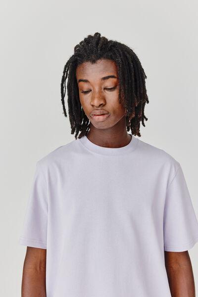 T-shirt oversized et lourd
