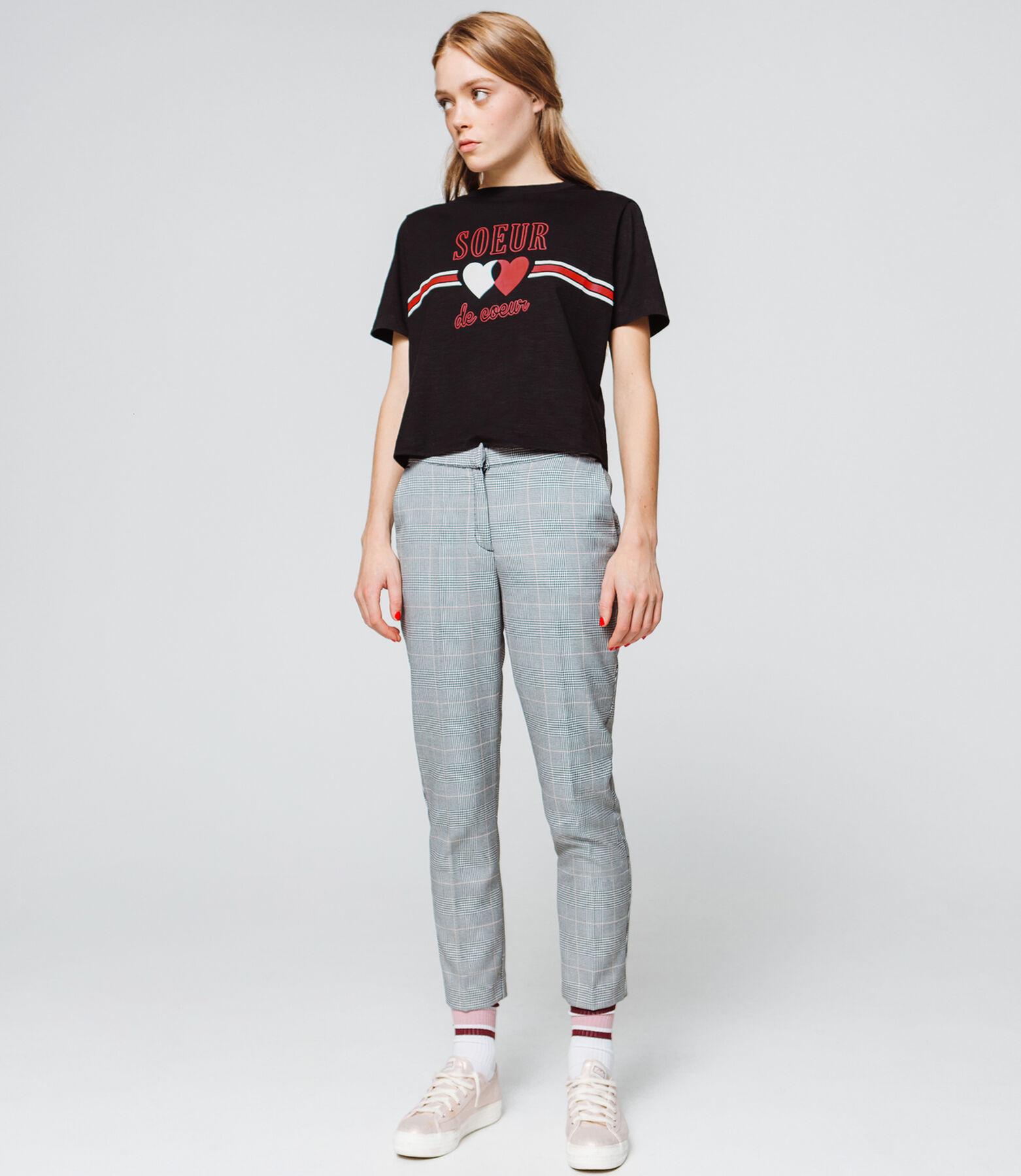 """T-shirt à message """"Sœur de cœur"""""""