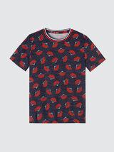 T-shirt imprimé boubou