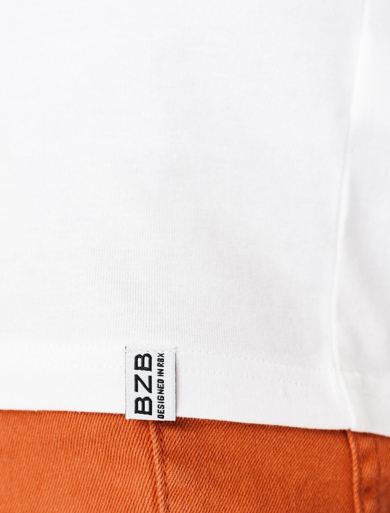 "T-shirt ""beer pong"" en coton BIO"