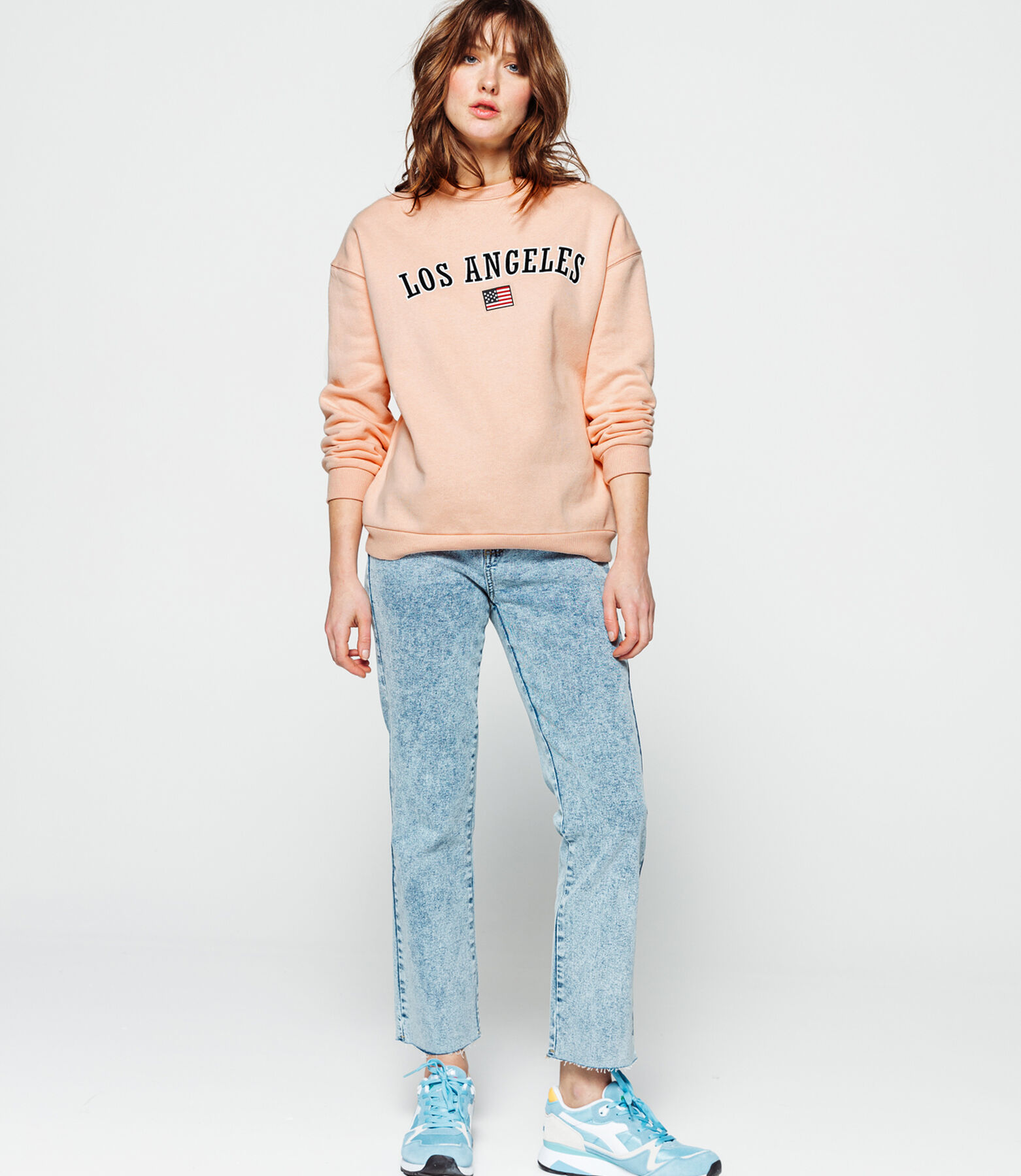 Sweat col rond Los Angeles