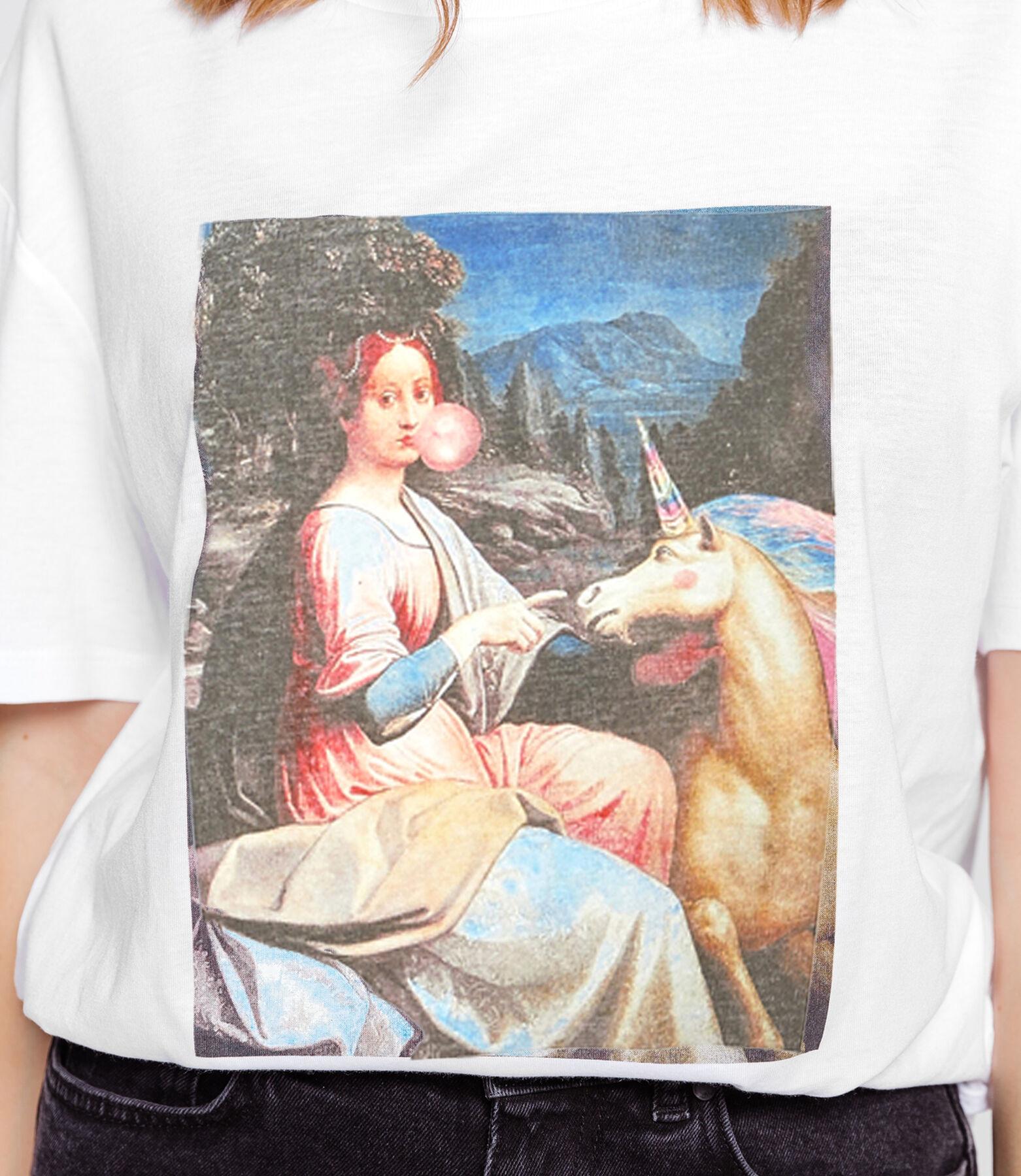T-shirt photoprint œuvre d'art