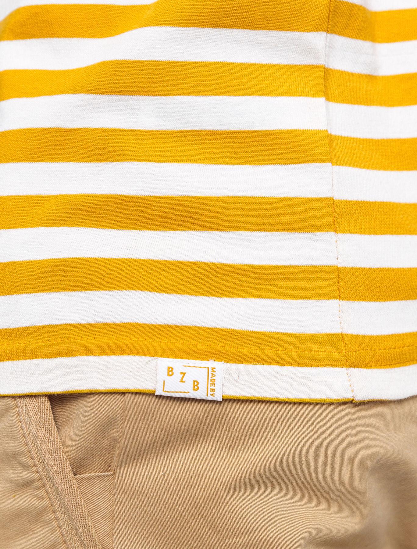 T-shirt marinière en coton BIO