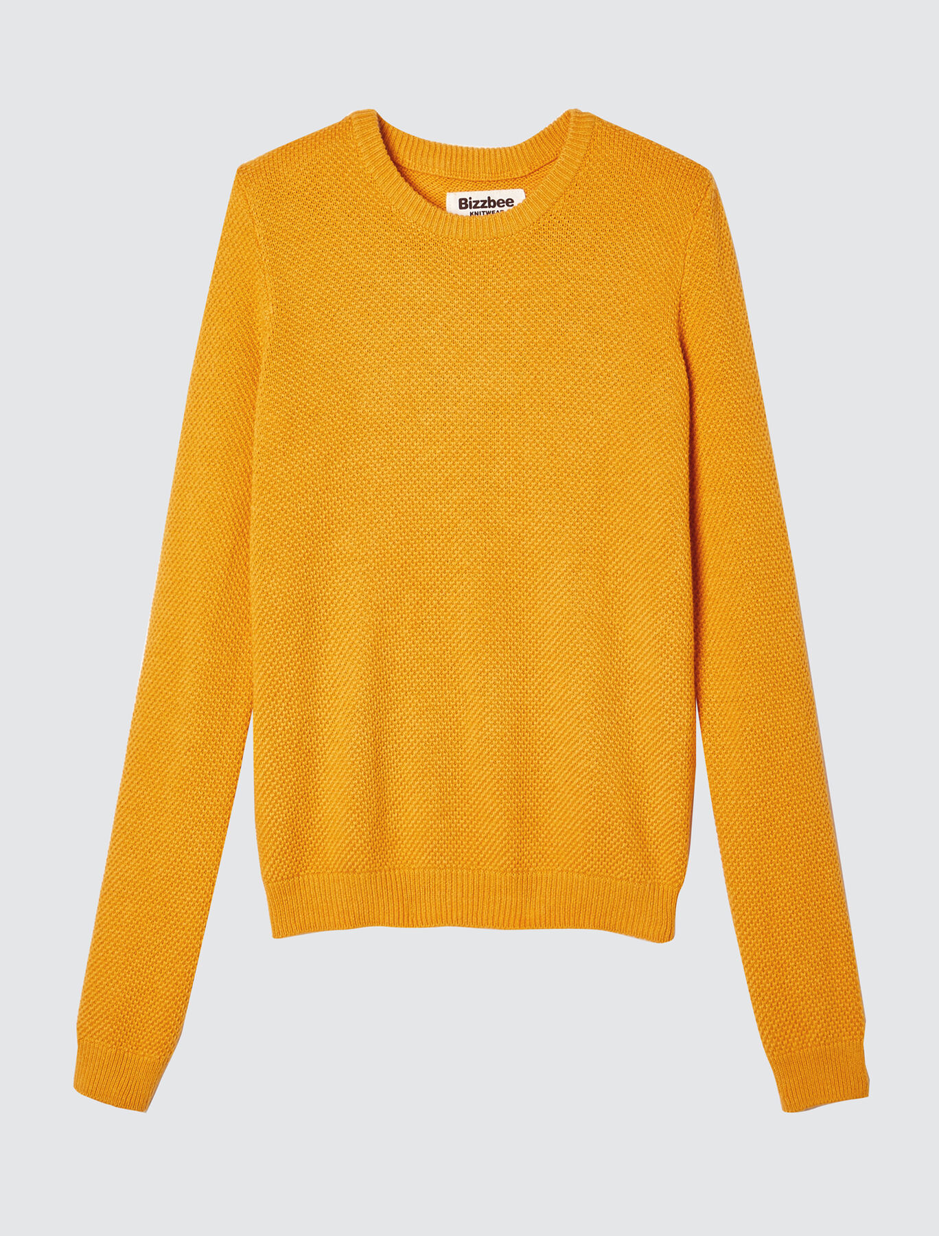 Pull col rond point fantaisie