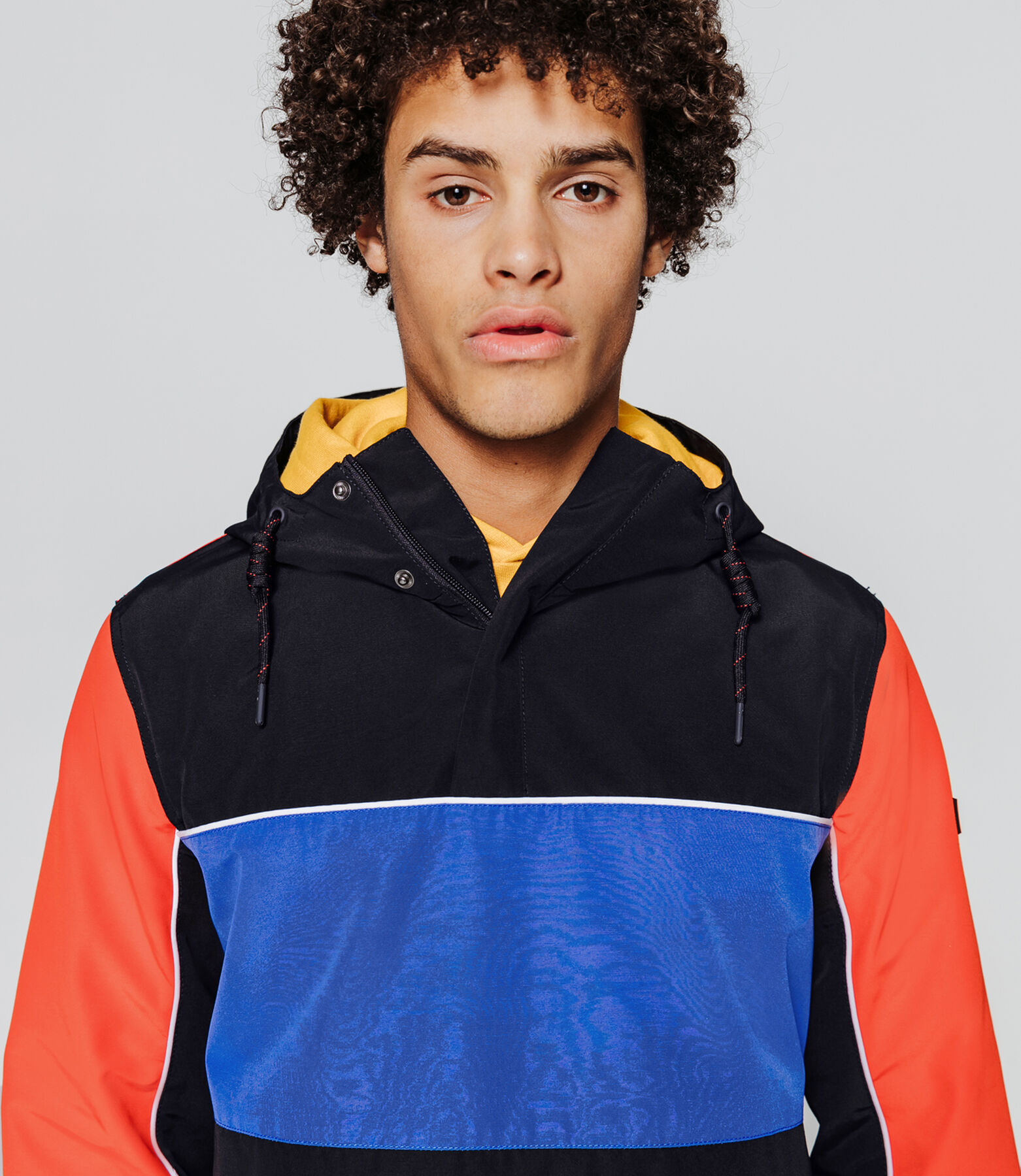Blouson color block