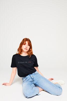 T-shirt St Valentin en coton IAB
