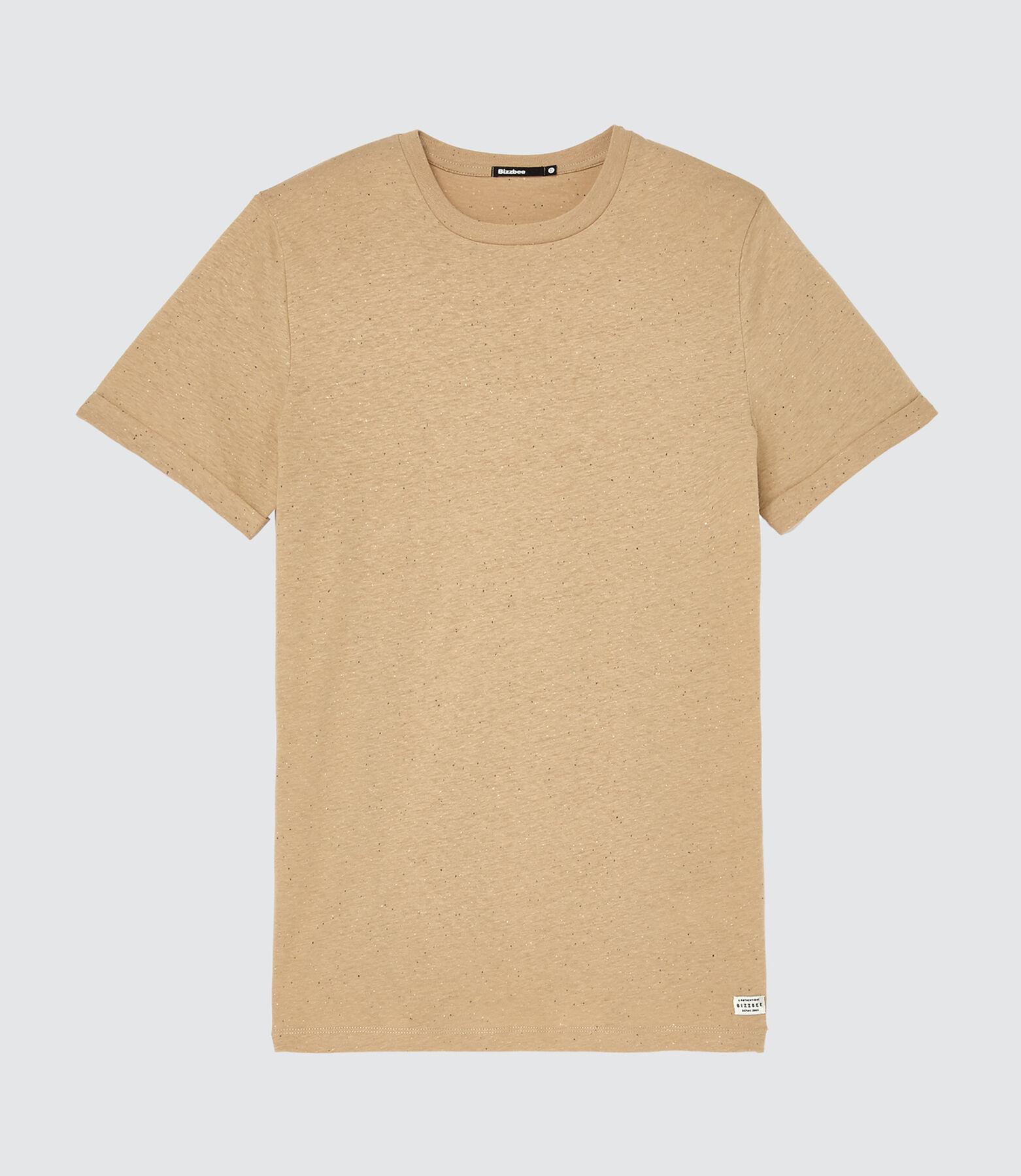T-shirt uni avec neps
