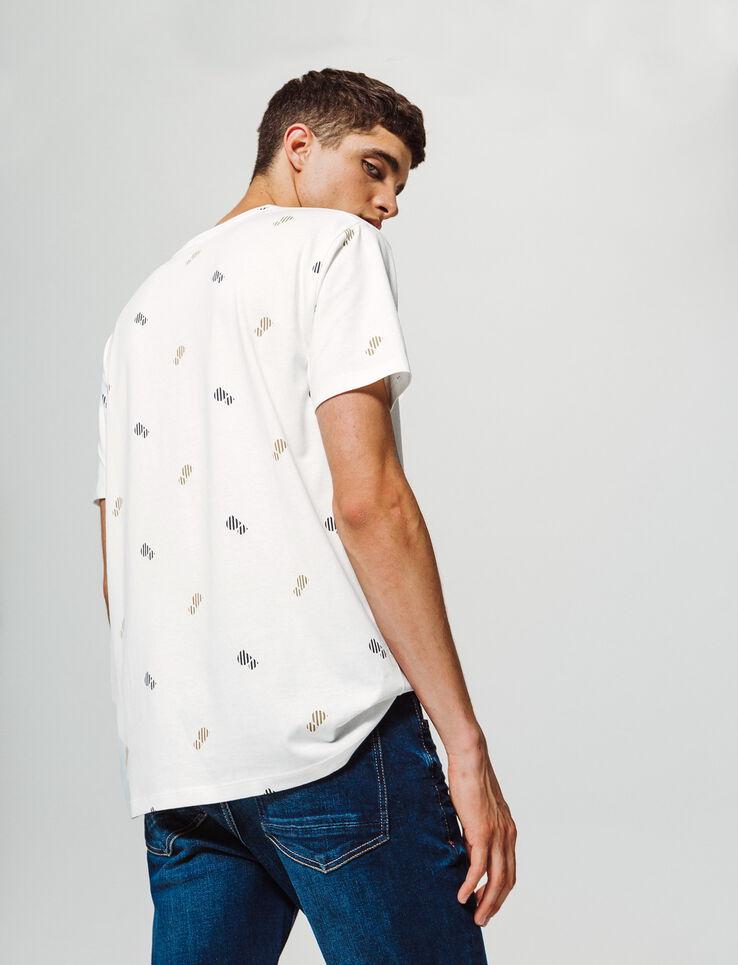 T-shirt forme loose imprimé
