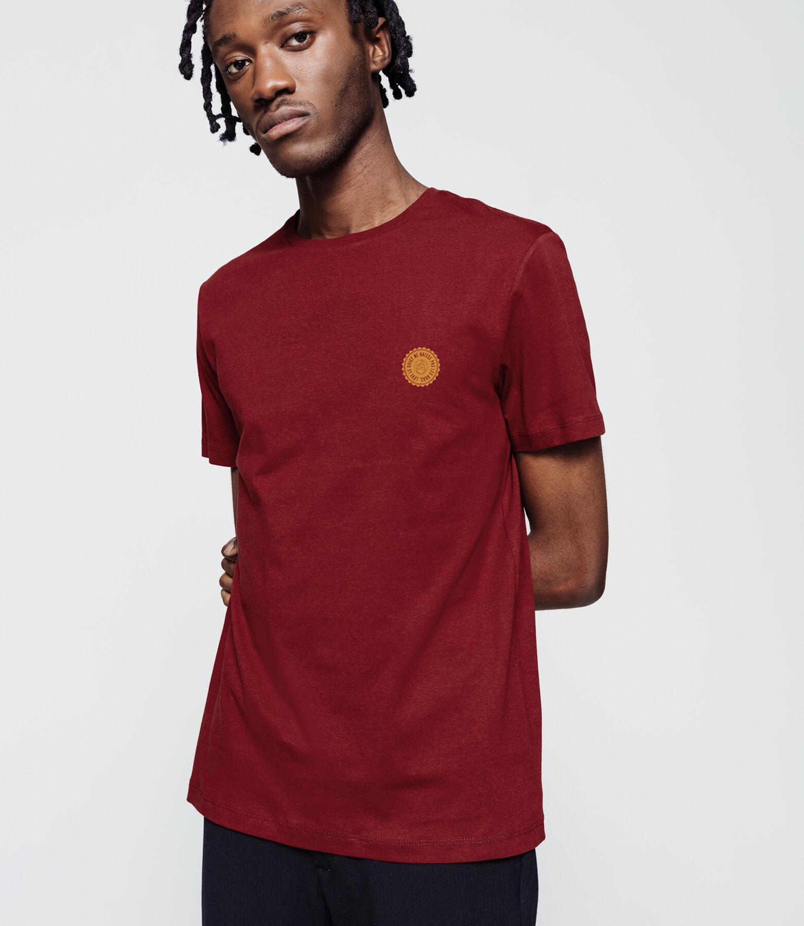 T-shirt print Lève le doigt