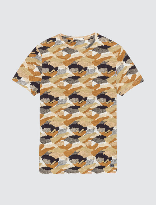 T-shirt all over imprimé camouflage homme