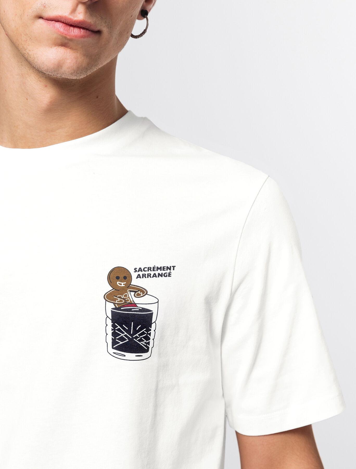 T-shirt humour printé