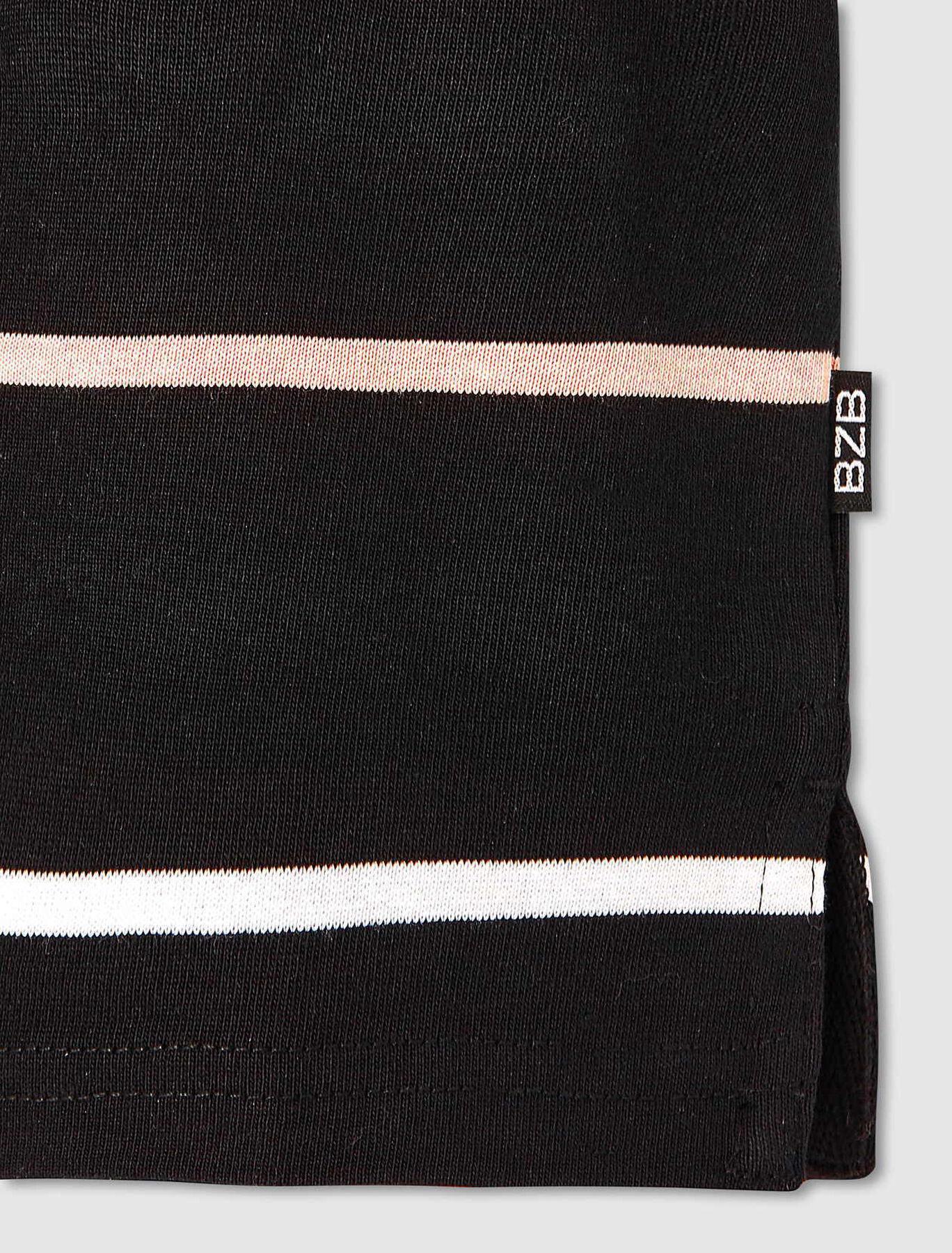 Polo rayures colorées