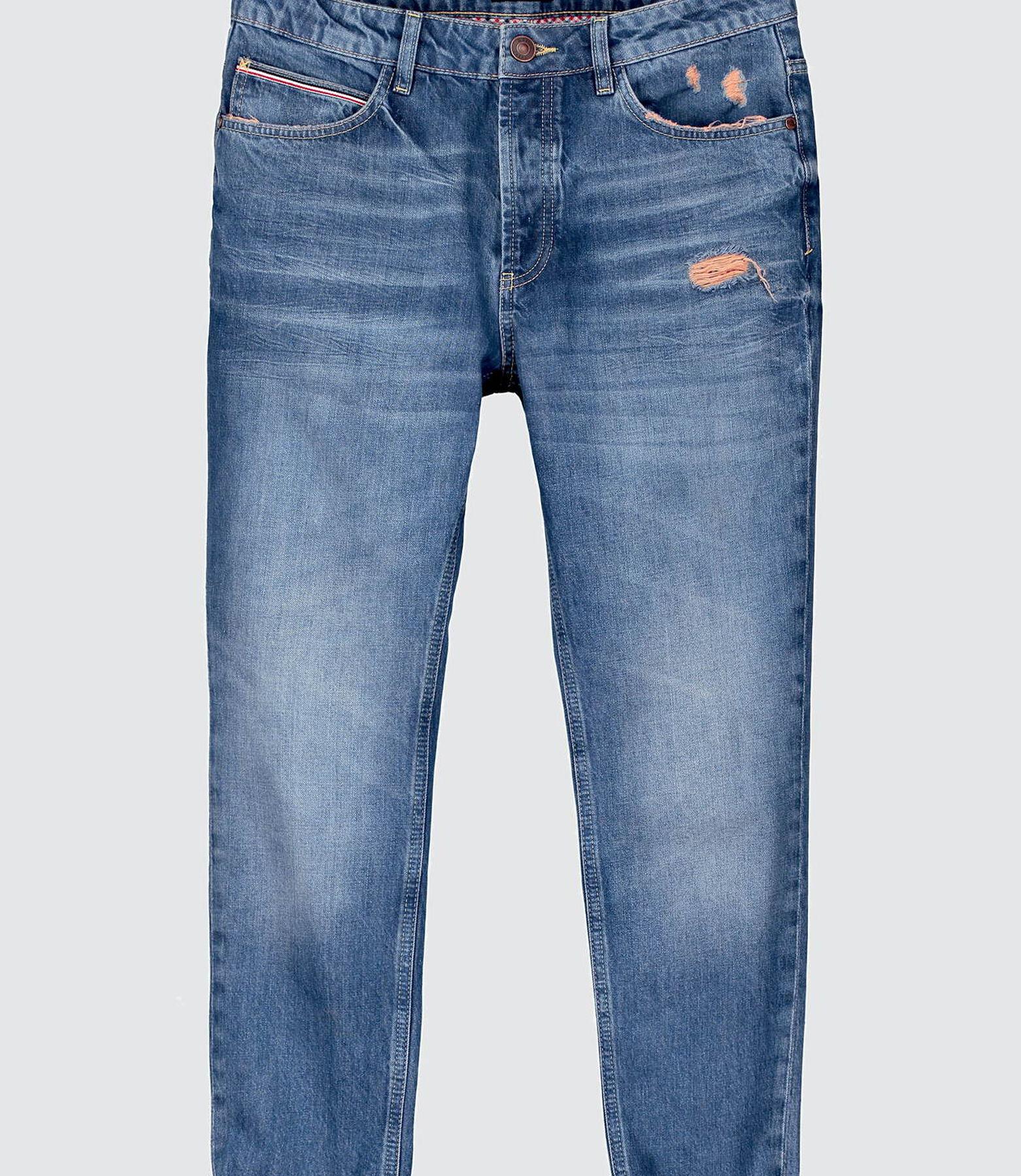 Jean slim tapered destroy