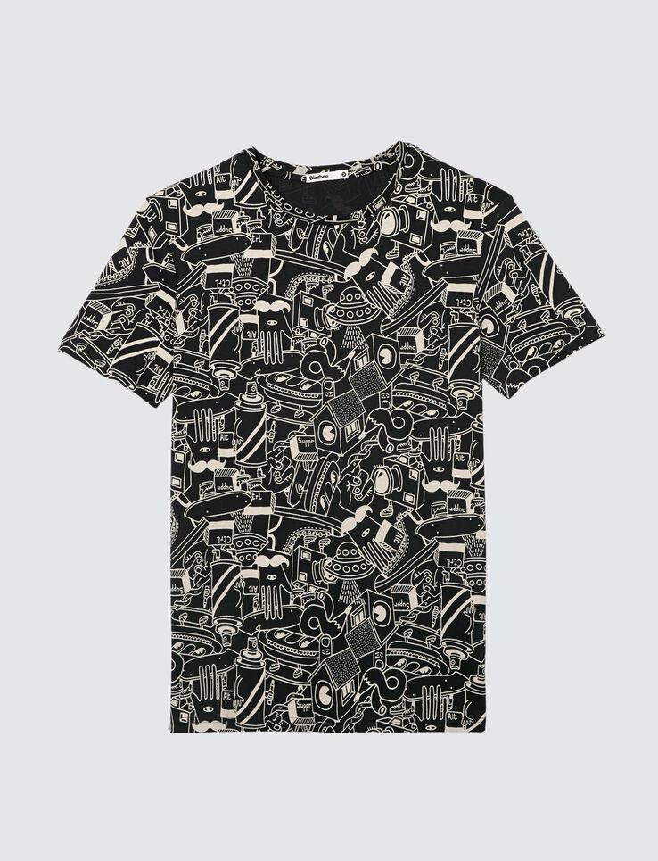 T-shirt imprimé all over