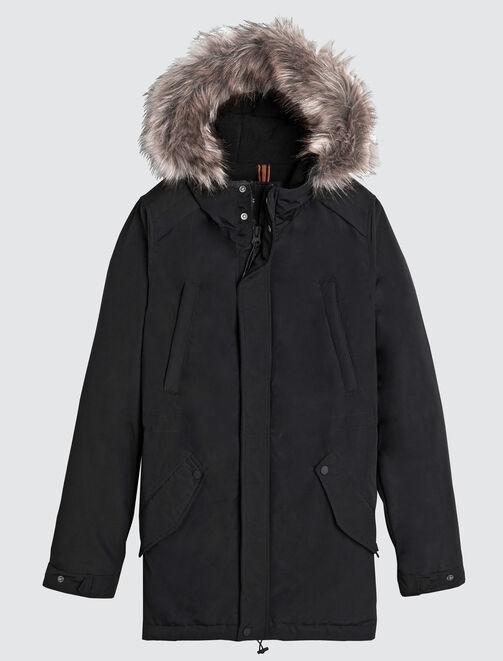 Parka chaude à capuche padding 3M® Thinsulate homme