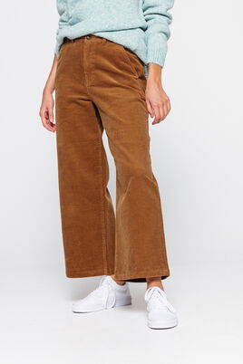 Pantalon Velours Wide Leg