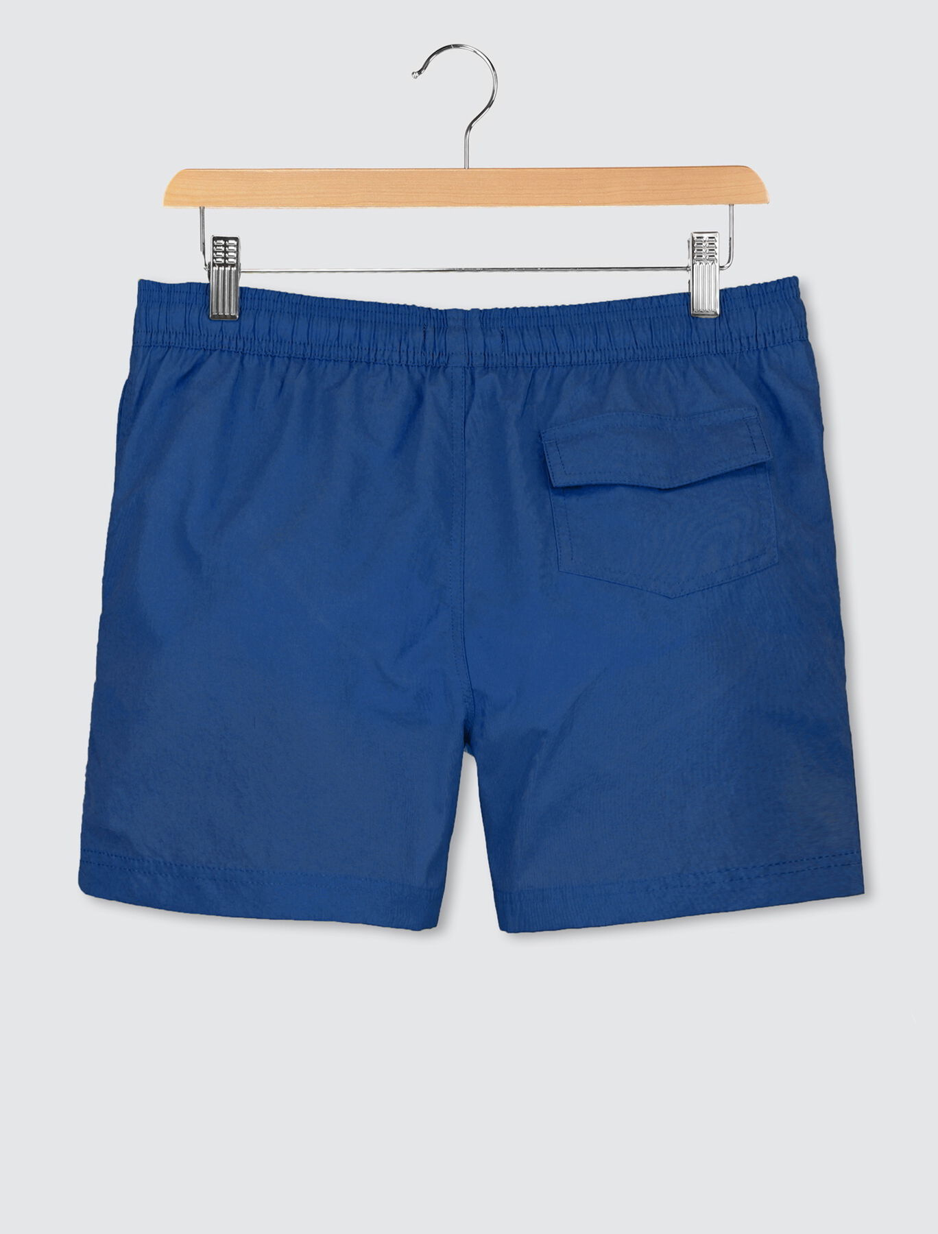 Short de bain mi-long uni