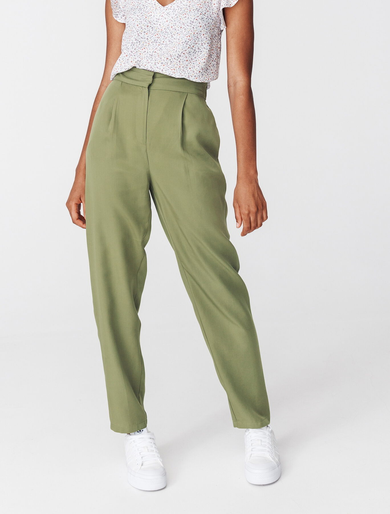 Pantalon Tencel à Pinces