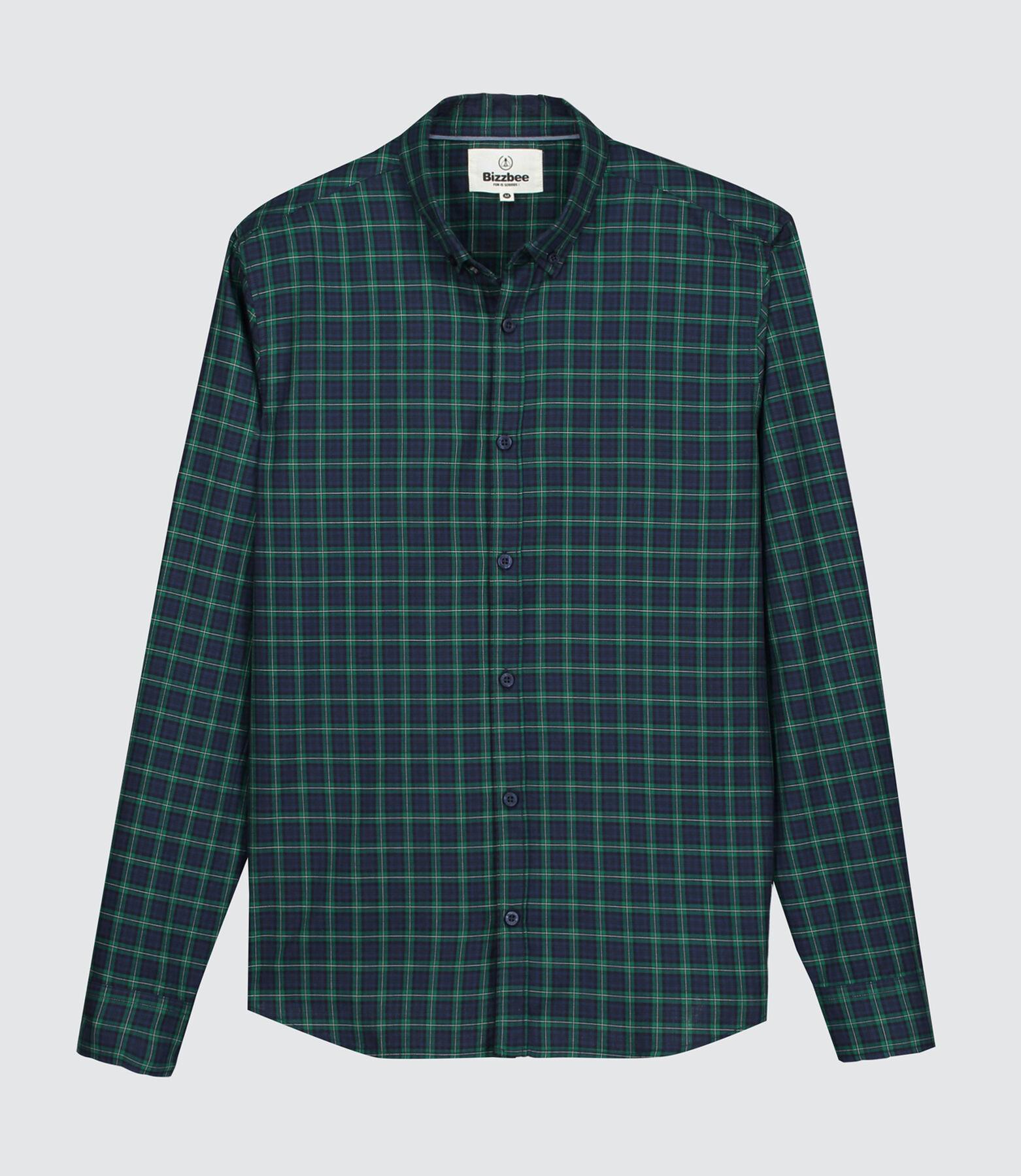 Chemise à carreaux preppy