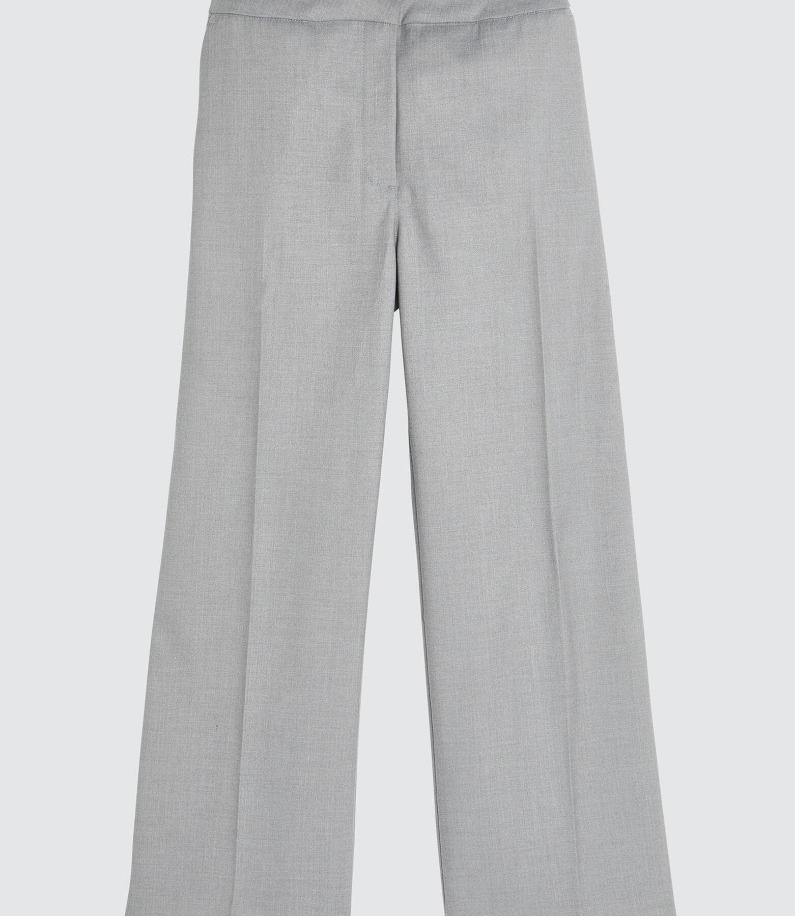 Pantalon à jambes larges uni