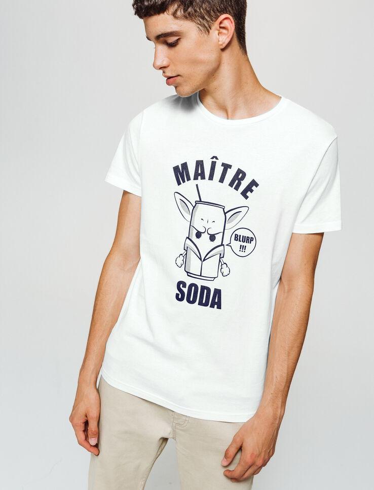 T-shirt imprimé dessin humour