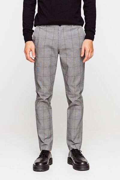 Pantalon à carreaux prince de galles