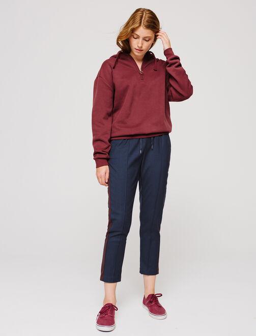 Pantalon style jogging femme