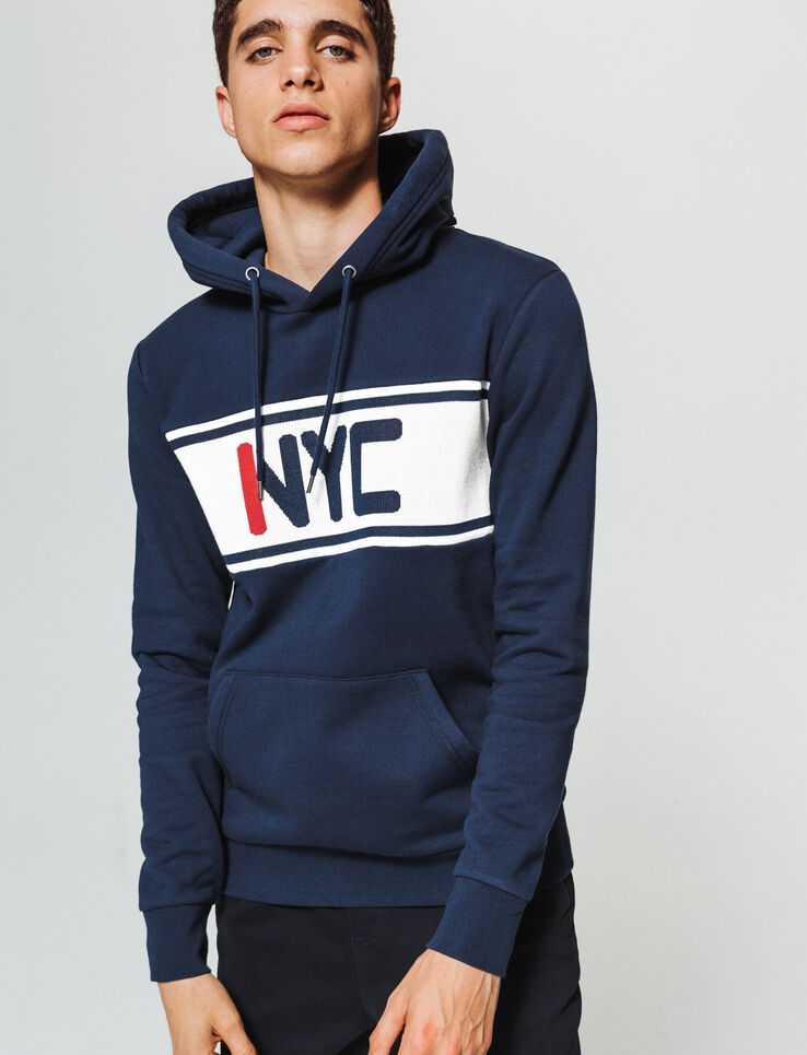 Sweat colorblock jacquard NYC
