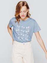 T-shirt imprimé pattes d'animaux