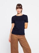 T-shirt basique en coton bio