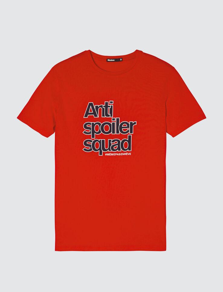 """T-shirt coton manches courtes """"Antispoiler squad"""""""