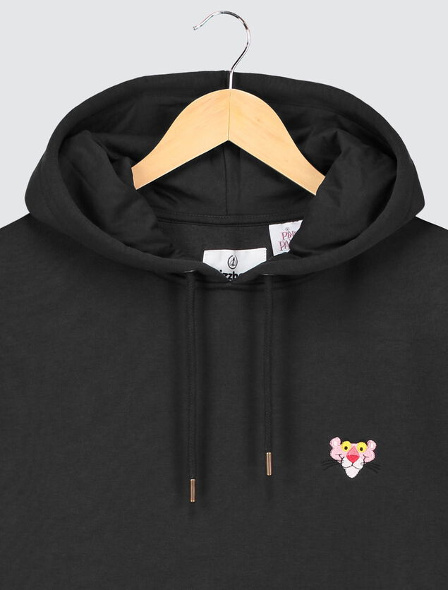 Hoodie sans manche licence PINK PANTHERE
