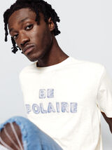 "T-shirt à message ""BE POLAIRE"""