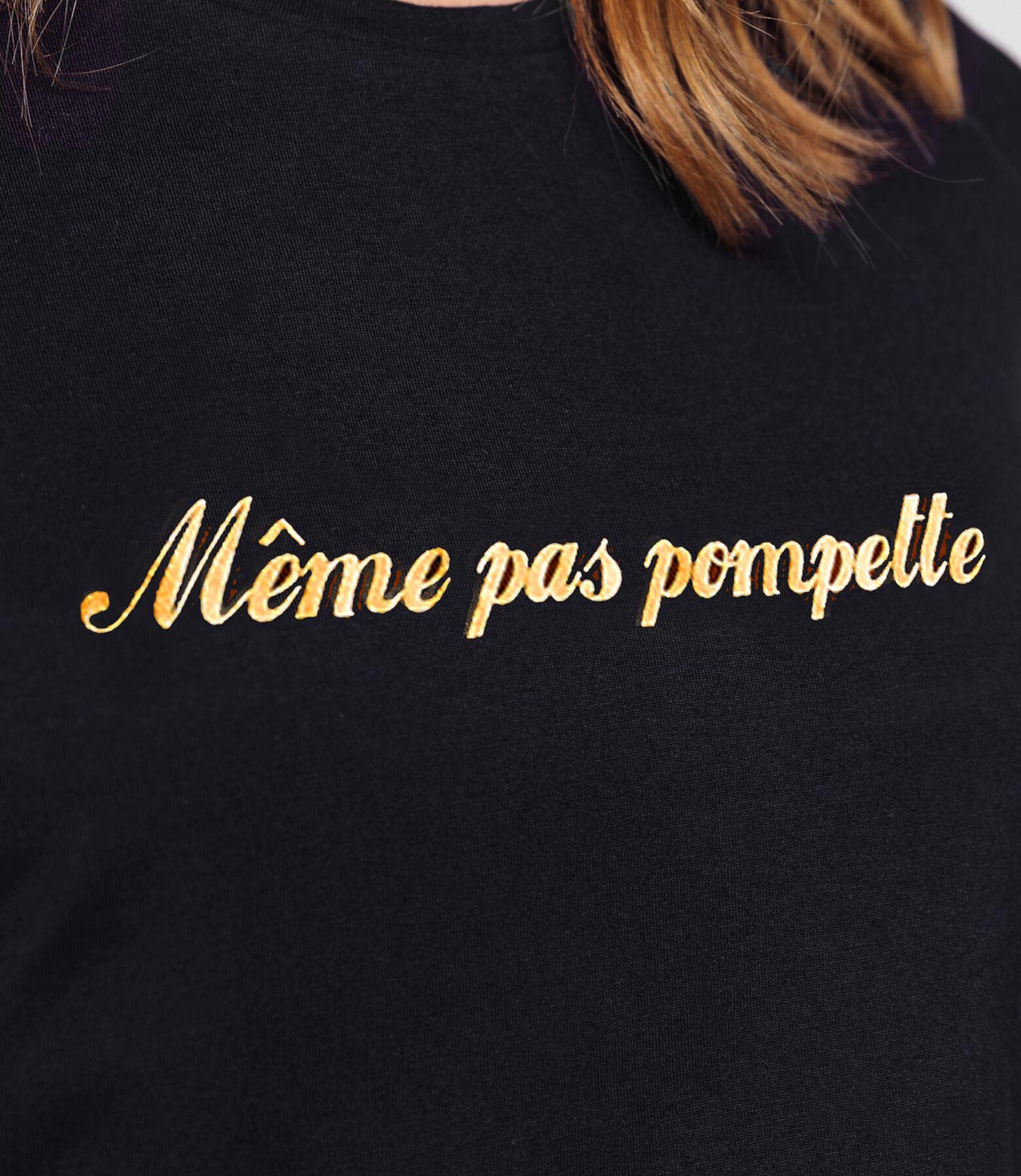 """T-shirt """"Même pas pompette"""""""