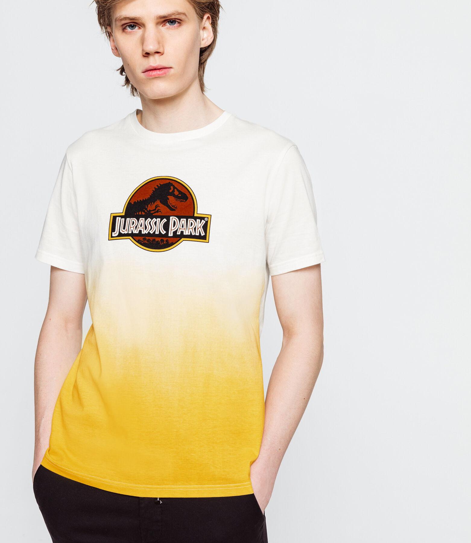 T-shirt dip dye Jurassic Park