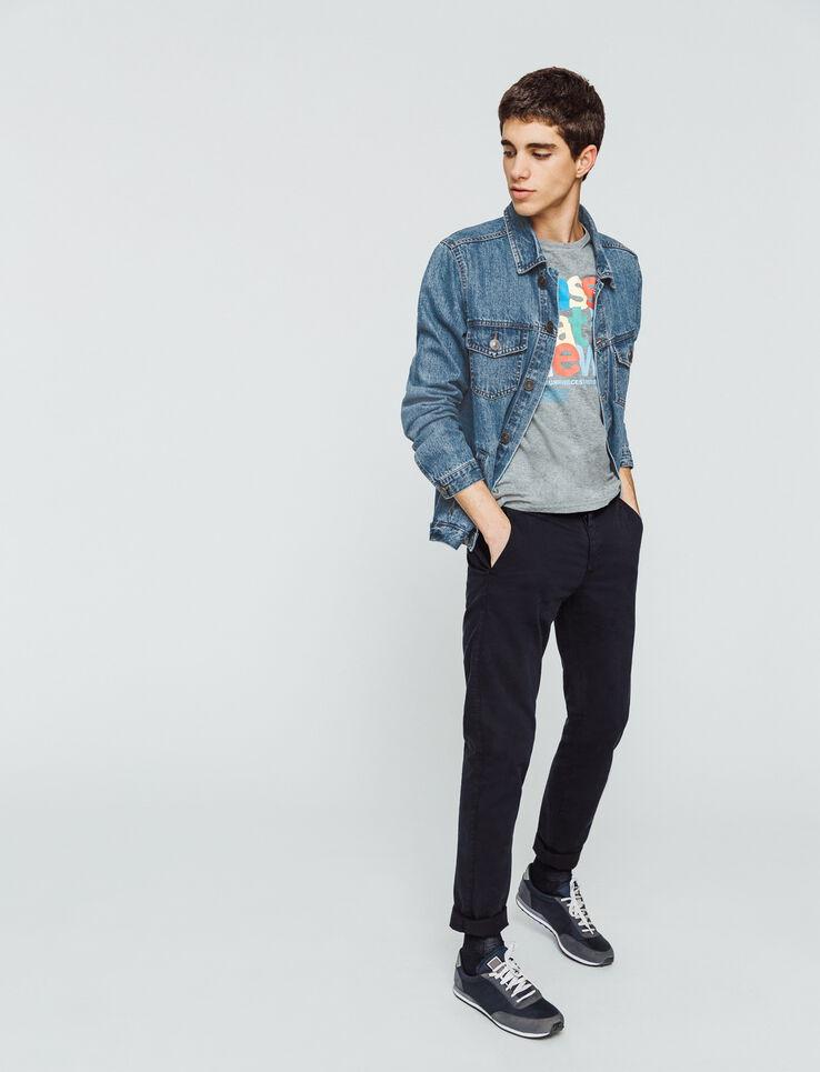 Veste en jean essentielle
